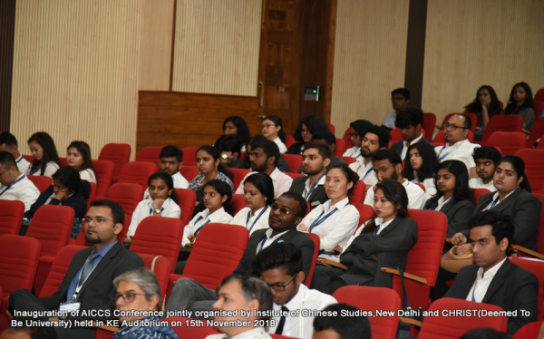 XIth AICCS Conference Inaugural Session