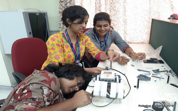 Robotics workshop 2019