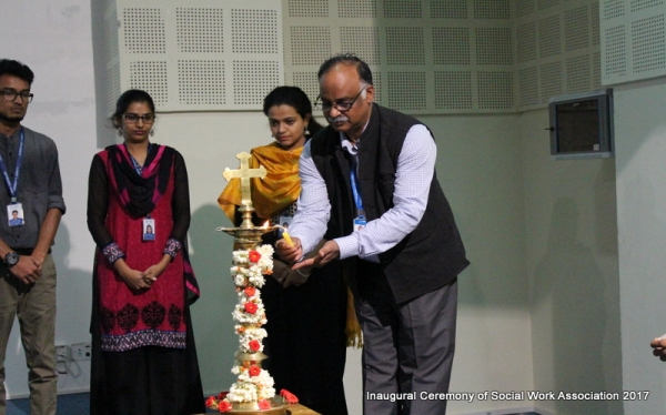 Inaugural Ceremony of Social Work Association 2017