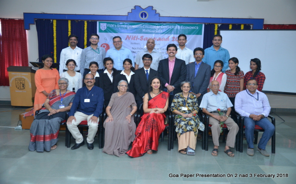 Goa Paper Presentation on 2 and 3 February 2018