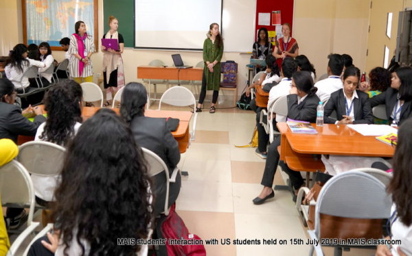 Interaction with US Students