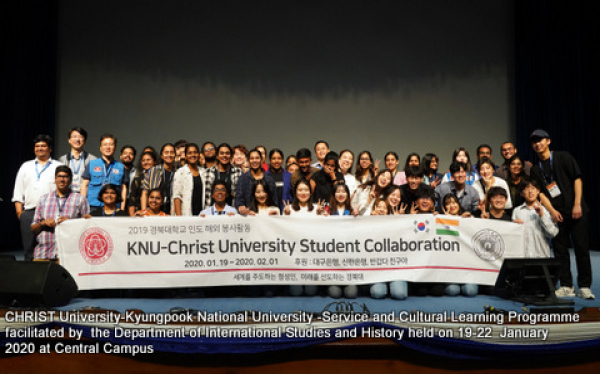International Studies Department Social Outreach Programme2020