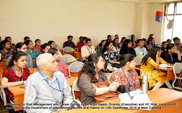 International Studies Department Workshop by Dr Arpit Rajain