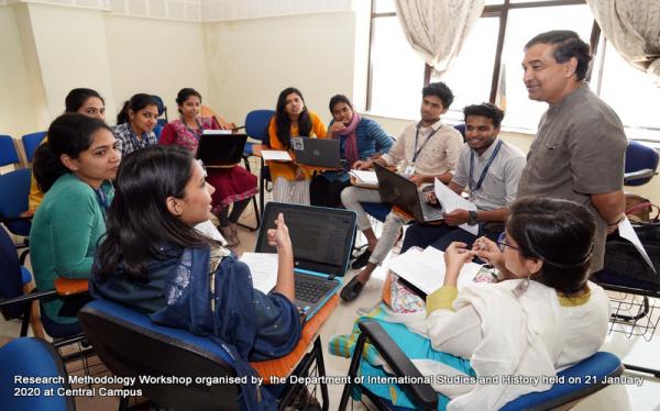 International Studies Department Research Methodology Workshop 2020
