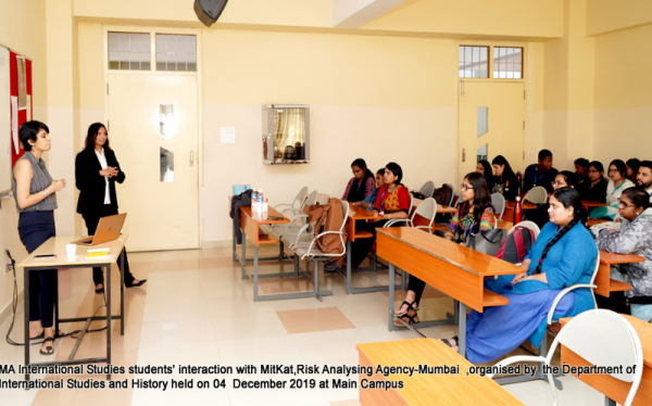 International Studies Department Student Interaction on 04 Dec 2019