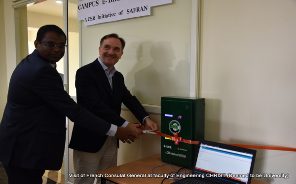 Visit of French Consulat General at faculty of Engineering