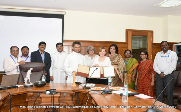 MoU with FH Muster
