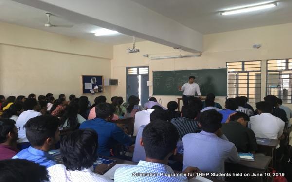 International Studies Dept UG Orientation Programme